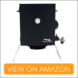 Patio-2-Portable Best Propane Smoker for beginners