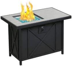 BALI Propane Gas Fire Pit Table