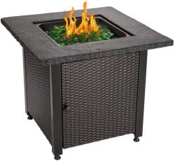 Summer Outdoor Propane Gas Fire Pit