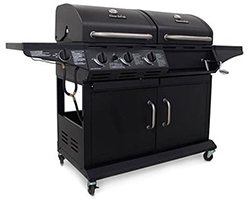Char-Broil-Deluxe-1010-3-Burner-Liquid-Propane-and-Charcoal-Combo-Grill