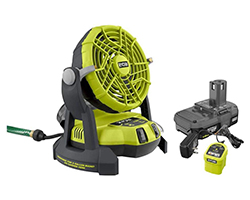 RYOBI-18-Volt-ONE-Bucket-Top-Misting-Fan-Kit