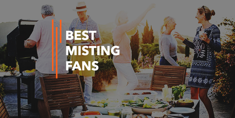 Best Misting Fans – Reviews {Buying Guide}